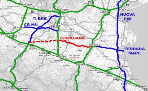 Perché l'autostrada regionale Cispadana è inutile