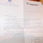 Lettera inviata a Galantini