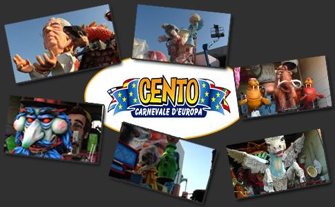 Taccuino Centese TV negli hangar del Cento Carnevale d'Europa