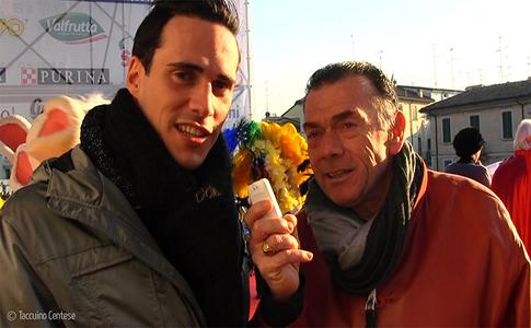 10 febbraio 2013: prima sfilata del Cento Carnevale d'Europa