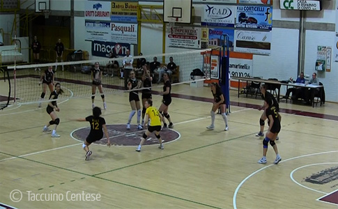 L'Evolution Volley pur perdendo dimostra carattere