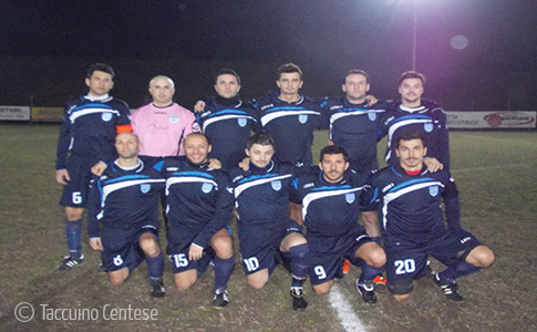 Cinquina del Guercino Calcio al Comacchio