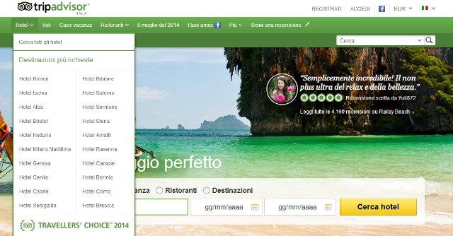 Ascon Ferrara: sostiene l'iniziativa di controllo dell'Antitrust nei confronti di TripAdvisor!