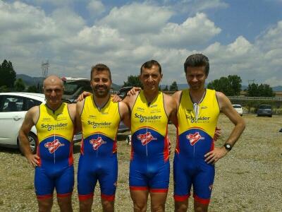 Triathlon doppio impegno per Cento: Carlo Lodi 3° a Barberino