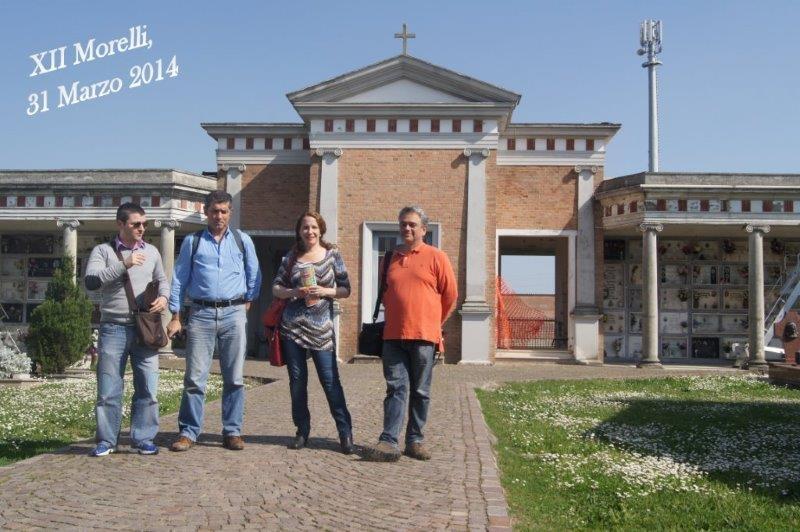 Imminente  l'avvio dei lavori di restauro e consolidamento al cimitero di XII !
