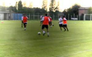 primi calcio mettendo insieme i nuovi e vecchi giocatori