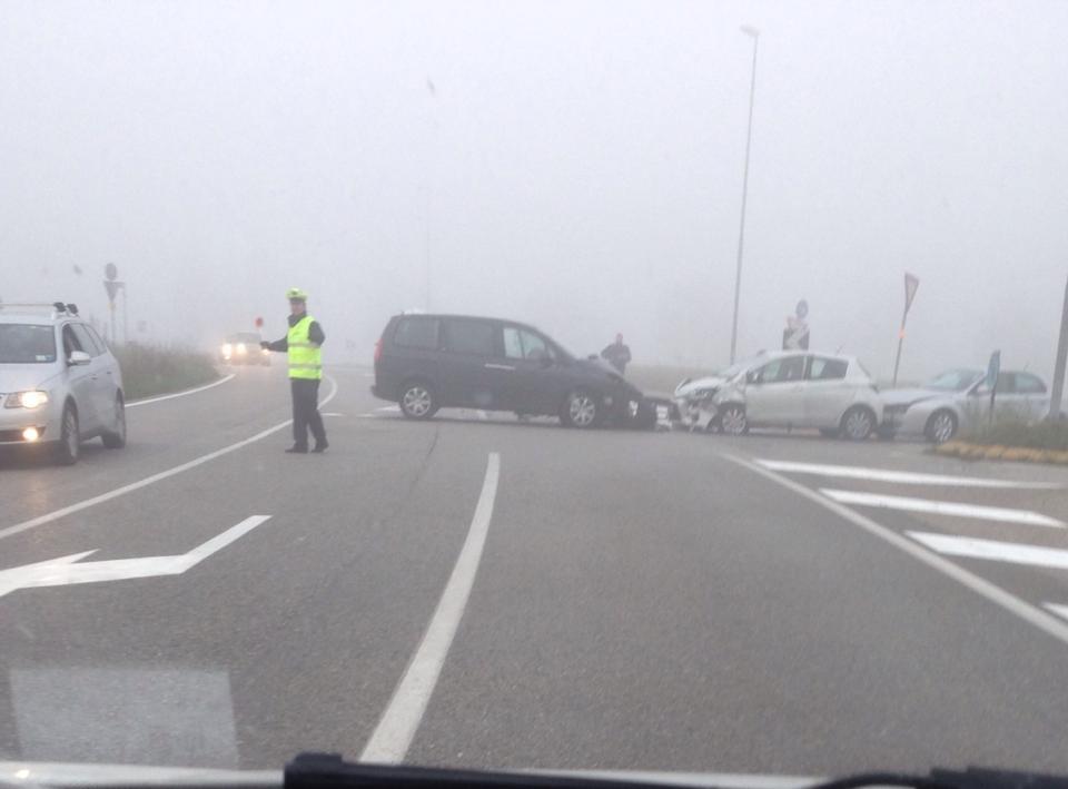 """Stamattina ennesimo incidente in Via Modena alla """"Ratta di Maruner""""!"""