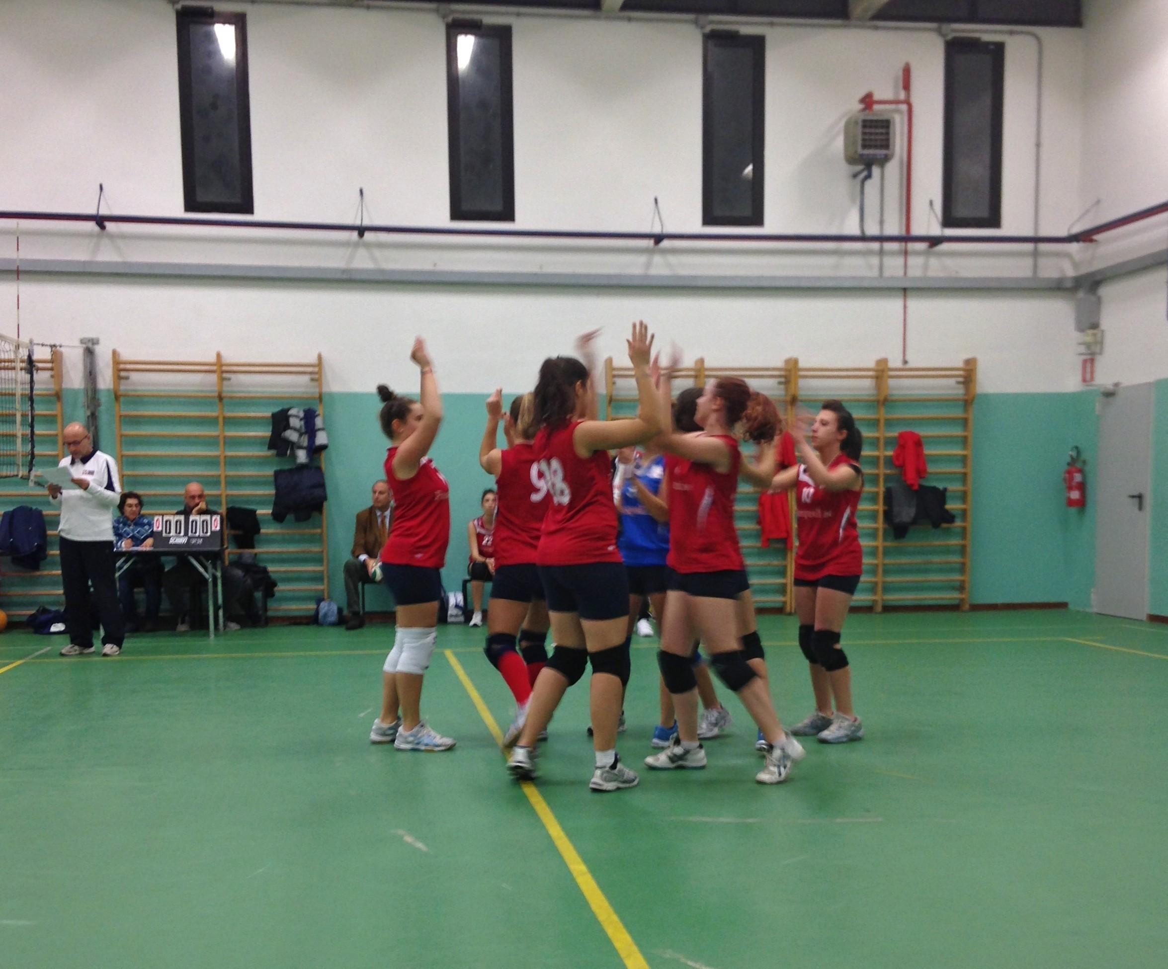 Benedetto Volley battute finali del campionato CSI