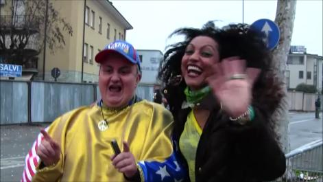 Il Carnevale impazza in barba alla pioggia !!