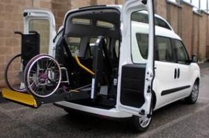 Nella foto repertorio Prima autovettura donata Sabato 28 in arrivo la seconda autovettura attrezzata per il trasporto dei disabili.!