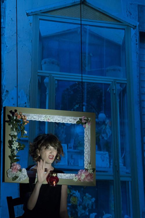 """Teatro Asioli Correggio (RE) 1/11/2013Giorgia Cardaci in: """"FERITE A MORTE"""""""