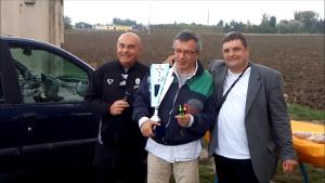 Paolo Govoni ultimo arrivato vincitore del Memorial Cremonini