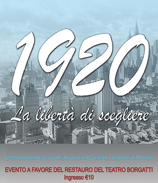 I Sognatori di Renazzo in scena per il restauro del Teatro Borgatti