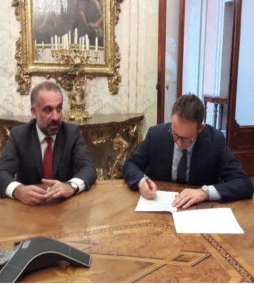 """BOLOGNA: MARCO AMELIO PRESIDENTE COFITER STIPULA CON UNICREDIT IMPORTANTE CONVENZIONE SUL """"MICRO CREDITO"""" !"""