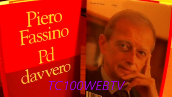 """CENTO (FE) ELEZIONI POLITICHE 2018 L'ON.PIERO FASSINO A CENTO CON IL LIBRO """"PD DAVVERO"""""""