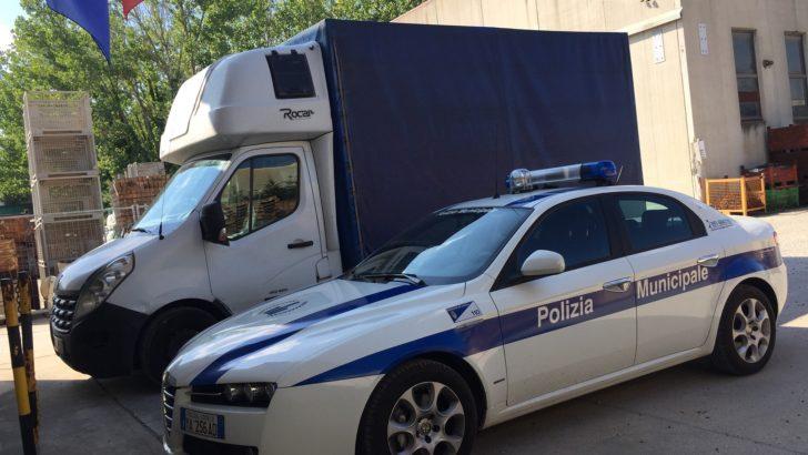 CENTO (FE)  – BRILLANTE OPERAZIONE DI CONTROLLO DEL TERRITORIO DA PARTE DELLA POLIZIA MUNICIPALE DI CENTO !