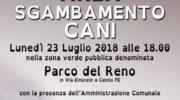 CENTO (FE)  – INAUGURAZIONE DELLA NUOVA AREA DI SGAMBAMENTO CANI!