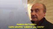 CENTO (FE) NATALE TEMPO DI BILANCI : MATTARELLI CHIAMA LIBERTA' PER CENTO !